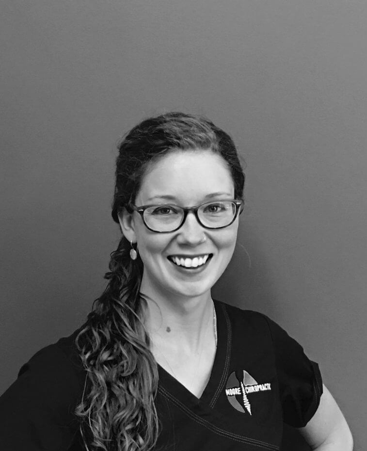 Whitney Hunt, LMP, Moore Chiropractic, Chiopractor, Massage Therapy, Olympia