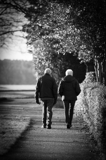 Older Couple Walking - Exercise, Moore Chiropractic, PLLC Olympia, WA