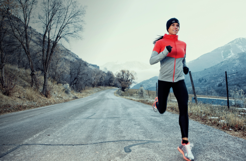 Winter Exercise - Running - Stay Healthy and Active - Moore Chiropractic, PLLC