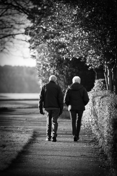 Older Couple Walking - Exercise, Moore Chiropractic, PLLC Olympia, WA