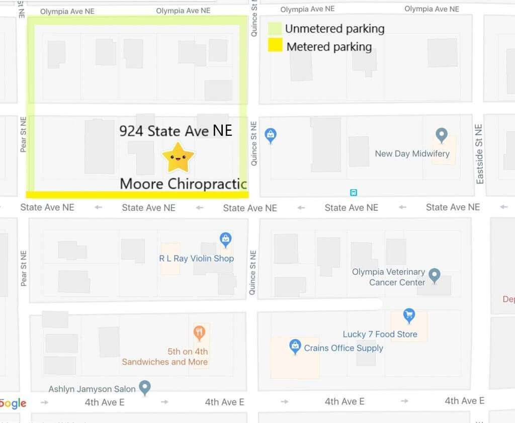 Moore CHiro Parking Olympia