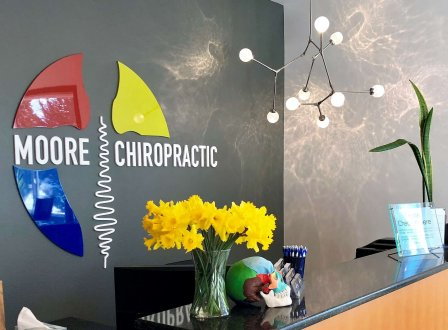 The office of Moore Chiropractic, PLLC