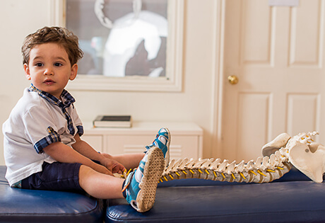 Chiropractic is safe for children